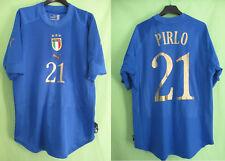 Maillot Italie Pirlo #21 Puma Vintage Oldschool Jersey Calcio Italia - L