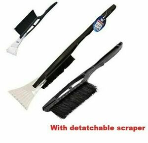 Long Handle Snow Brush / Ice Scraper - Cuts Through Frost - Quickly Removes Snow