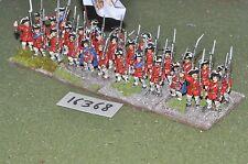 Infantería 25mm Guerra de los siete años 29 figuras (16368)