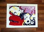 """Snoopy Charlie Brown Mellow Jello Canvas Print 24"""" x 32"""" Tom Everhart"""