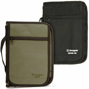 Snugpak Grab A5 Folder Document Passport Holder Travel Organiser Wallet Map Case