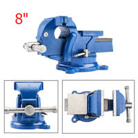 """US 8"""" Heavy Duty Bench Vise Table Top Clamp Press Locking Swivel Base Spraying"""