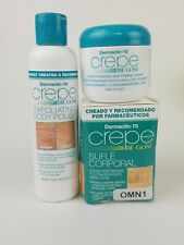 Set of Dermactin-TS Crepe Be Gone Body Polish and Be Gone Firming Cream.