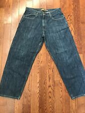 Vintage Levis Silvertab Baggy Denim Jeans - 33 X 31.5