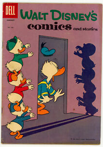 JERRY WEIST ESTATE: WALT DISNEY'S COMICS & STORIES #244 (Dell 1961) VG Barks!