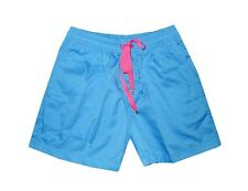 NEW! AUTHENTIC MAUI LOUIE WOMEN'S LOUNGE SHORTS (BLUE/PINK, SIZE SMALL)