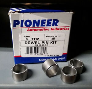 4 SBF Ford Cylinder Head Dowels Aligns Heads to Block 289 302 5.0 351W 351C