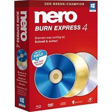 Nero Burn Express 4 Software deutsch -