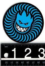 """SPITFIRE 3"""" ROUND STICKER Spitfire Wheels 3 in Round Skateboard Blue Decal"""