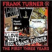 The First Three Years, Frank Turner CD , New, FREE & Fast Delivery