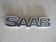 Original 1970s SAAB 900 rear emblem - part no. 822050