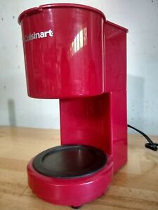 Cuisinart 4 Cup Coffee Maker DCC-450 Red
