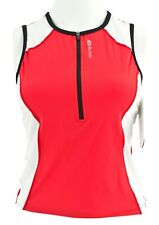 Sugoi 20661F Womens Nwt Velocity Tri Tank With Independent Bra Made In Canada