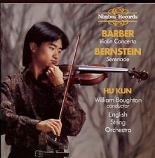 Barber - Bernstein / Violin Concerto, Serenade - Hu Kun