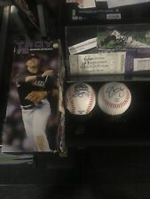 2010 Troy Tulowitzki Gold Glove Silver Slugger Bobblehead & Autographed Items