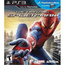 The Amazing Spider-Man PS3 (Sony PlayStation 3, 2012) Disc Only
