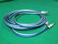 30 ft BULLZ AUDIO Cable, TRUE 12 Gauge Speaker Wire, 2 to 2 Banana Plugs.