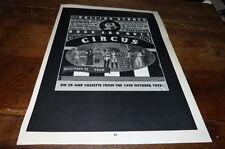 ROLLING STONES - Publicité de magazine / Advert THE ROCK AND ROLL CIRCUS !!! UK