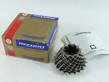 Campagnolo Record Titanium Cassette 9 Speed 12-21 Exa Drive Full Racing Bike NOS