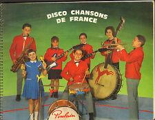 CHOCOLAT POULAIN ALBUM D'IMAGES DISCO CHANSONS DE FRANCE 1965