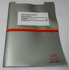 Werkstatthandbuch Seat Ibiza Typ 6L Bremsen Bremsanlage ab 2002
