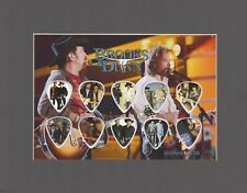 Brooks & Dunn Matted Picture Guitar Pick Set Limited My Maria Boot Scootin'