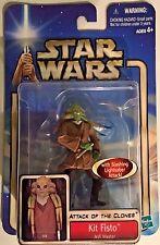 Kit Fisto - Jedi Master - Attack of the Clones Star Wars Action Figure #05
