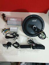 MXUS 48V 1000W Brushless Direct Drive Hub Motor for front e-bike conversion kit