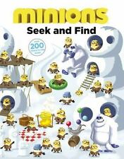 Minions: Seek and Find by Trey King and Universal Books Staff (2015, Hardcover)