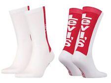Levi´s Unisex 2-er-Pack Levis 168SF Regular Cut Socks Strümpfe Sportsocken