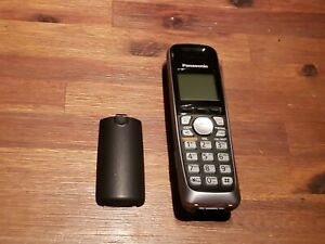 (KM) PANASONIC KX-TGA652B  DECT 6.0 PLUS EXPANSION ACCESSORY CORDLESS PHONE