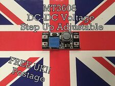 MT3608 DC-DC Voltage Step Up Adjustable Boost Converter Module 2A New UK Stock