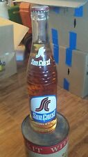 Soda Bottles.  Vintage / Full / Unopened / Sun Crest