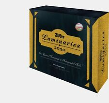 2020 Topps Luminaries Baseball Hobby Box Factory Sealed