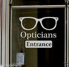 Gran signo Personalizado Grabado para la ventana de óptico tienda de vinilo adhesivo pegajoso ácido Frost