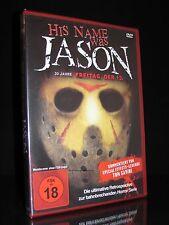 DVD HIS NAME WAS JASON - 30 JAHRE FREITAG DER 13. - FSK 18 - TOP DOKUMENTATION *