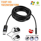 1/2/5M HD720P 2in1 Mini USB OTG Endoscope Snake USB Camera Waterproof Android PC