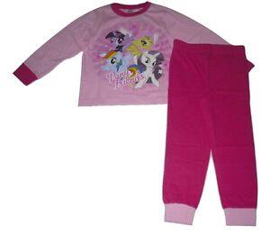 Girls Pyjamas My Little Pony 3 4 5 6 7 8 & 9 Years Old Pink