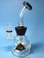 Black eyes Water Bong Glass bong glass smoking Pipes Glass Pipes Beaker hookahs