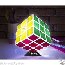 Rubiks Cube Light Desk Lamp with stand Rechargeable USB Cable