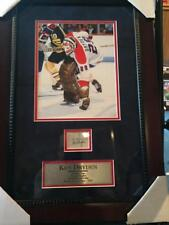 Ken Dryden signed cut autograph framed and matted with COA  Very Rare
