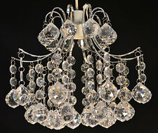 CHANDELIER PENDANT LIGHT SHADE CLEAR ACRYLIC CRYSTAL BALLS