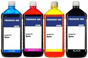 Akink Tinte für Epson Eco Tank Serie - 4x 250ml ET-5170 ET5170