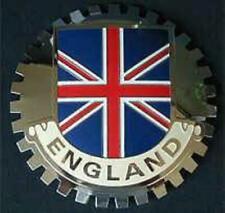ENGLAND BRITISH FLAG CAR GRILLE BADGE EMBLEM -  BRITISH UNION JACK
