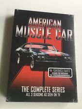 American Muscle Car - Complete Series -  Seasons 1 - 3 -  6 Disc Set