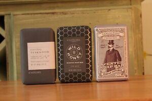 Castelbel Soap For Men Made in Portugal 10.5oz (Sandalwood, Honey, Teakwood)