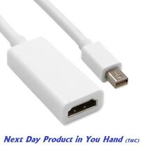 Mini Display Port Male to HDMI Female cable Apple Thunderbolt For Mackbook Air