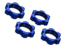 TRAXXAS 7758 XMAXX Dadi Ruota 17mm Alluminio Blu/WHEEL NUTS  SPLINET 17mm BLU TR