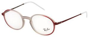 Ray-Ban Eyeglasses RX 7153 5792 52 Light Brown;Bordeaux Frame [52-21-145]
