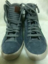 D-String Fashion Diesel Shoes Men New Size 12 Anthracite/ Nautical